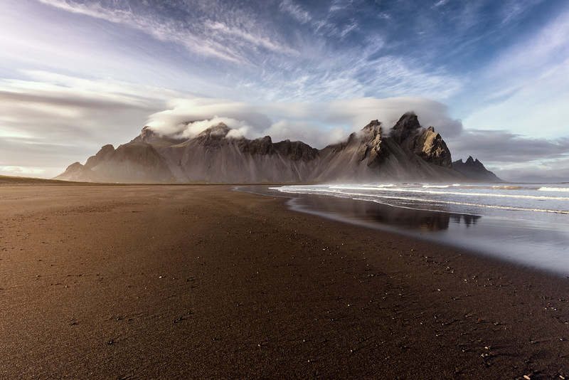 The Vestrahorn Mountain