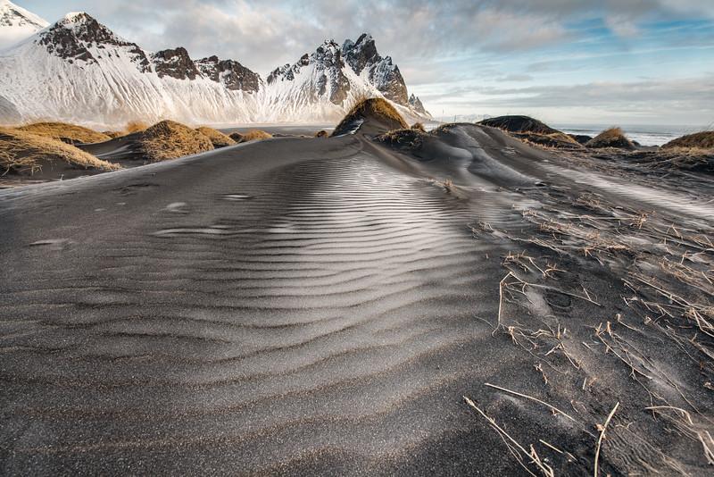 The Vestrahorn littoral