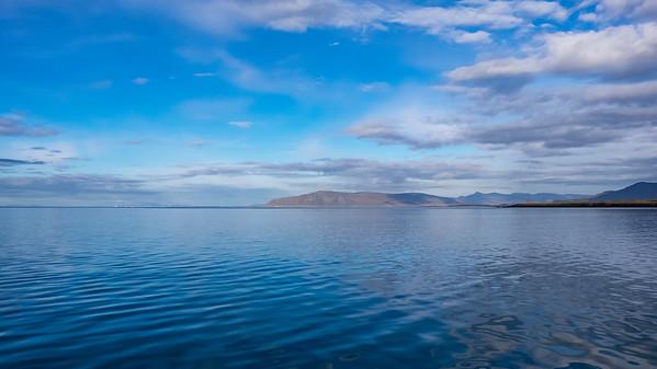 Becalmed sea