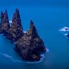 Frozen Trolls - Reynisdrangar Cliffs, Vík, Iceland