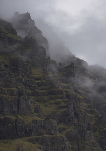 Fog Lifting from a Hillside - P1