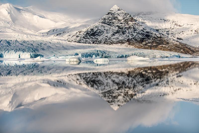 Reflected peaks