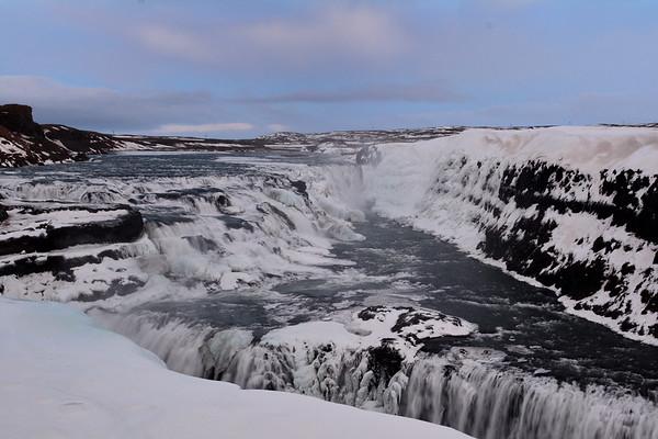 Selfoss and beautiful waterfalls