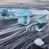 Diamond Beach Floating Icebergs 3