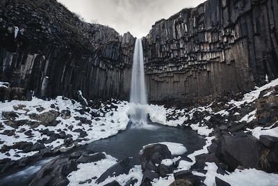The Balck Waterfall