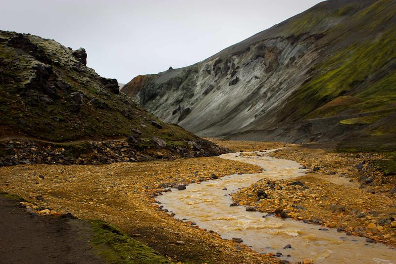 Along comes a river
