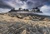 Vestrahorn scape landscape