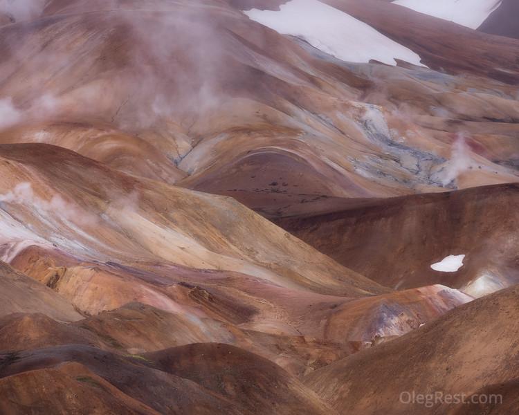 Highlands in Iceland