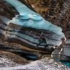 Mýrdalsjökull Glacier Ice Cave Layers