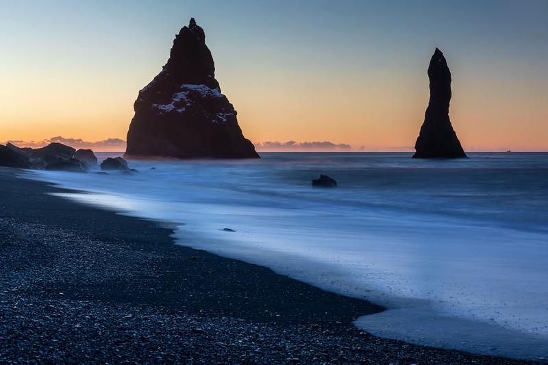 Reynisfjara Beach Dawn