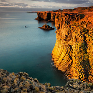 Seaside Cliffs of Gold