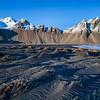 Iceland Peaks and Black Sand Beach