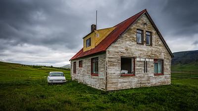 Abandoned Home near Hvanneyri