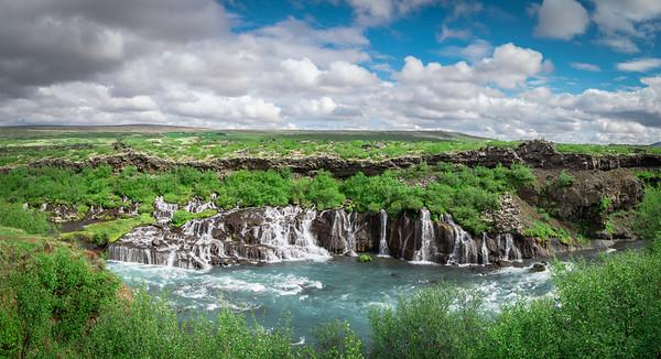 Hraunfossar Panorama