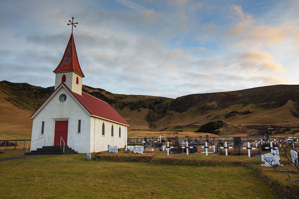 Reyniskirkja Church. Vik, Iceland