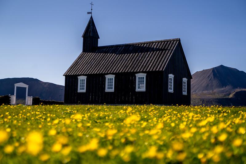 Buoakirkja Black Church