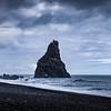Drama at Reynisfjara Beach, Iceland