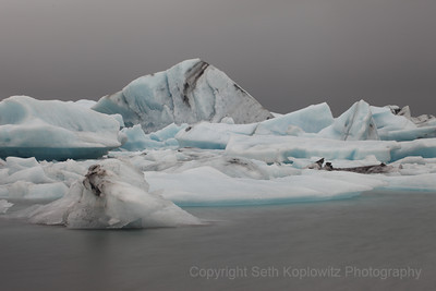 Blue and Grey - Jokulsarlon, Iceland (2013)