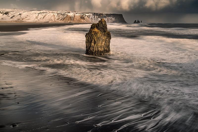 Reynisfjara stack and beach