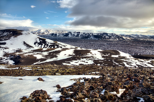 Icelandic Mountain Range