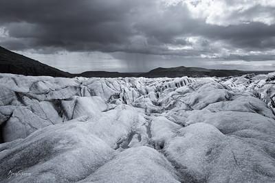 Svínafjellsjökull Storm