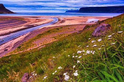 Patreksfjordur Fjord