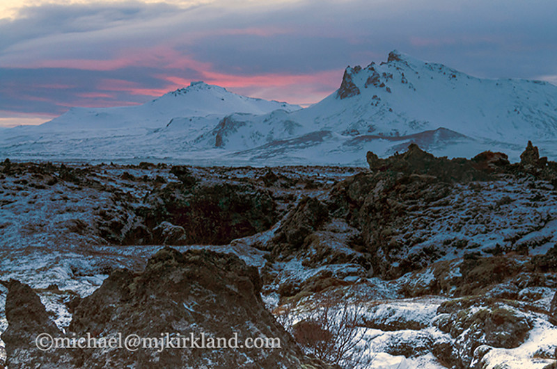 Sunrise at Snaefellsnes - Snaefellsnes Peninsula, Iceland - Michael Kirkland - February 2015