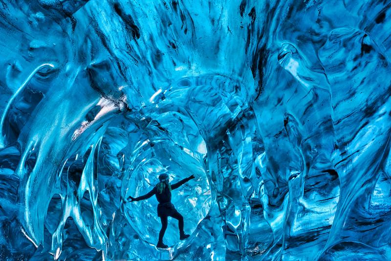 Ice Cave Portrait
