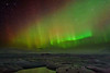 Northern Lights over Jokulsarlon Glacier Lagoon - Iceland and Northern Lights Tour - Jerry Negele - March 2012