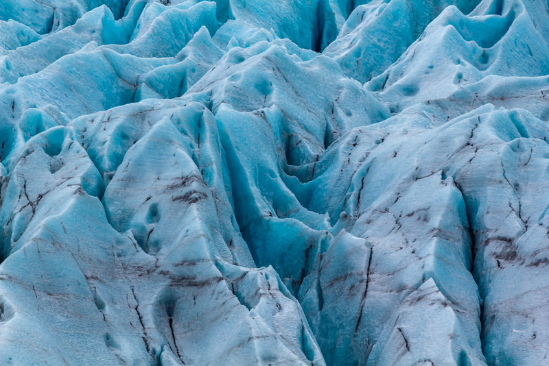 Blue Mood - Faajokull, Iceland - Cosmas Liu, MD - March 2014