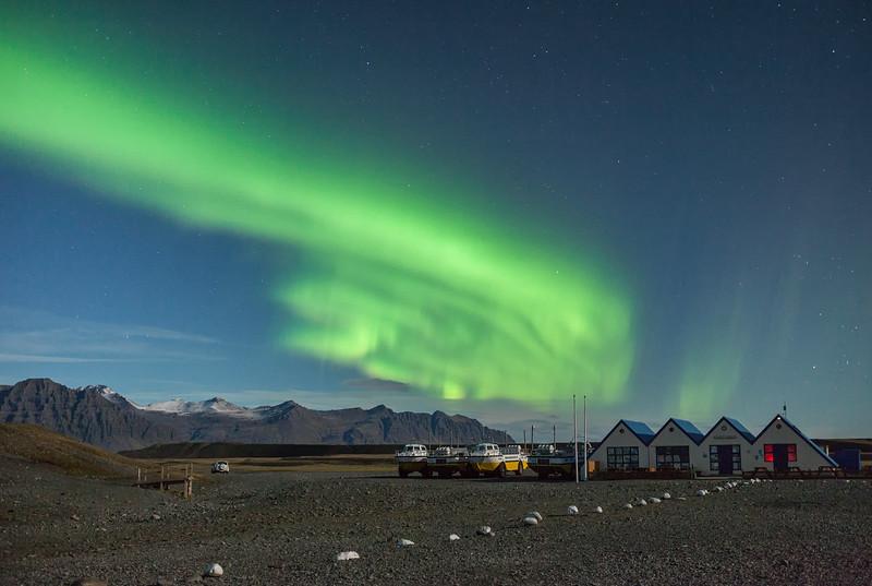 Iceland - Northen light (aurora)