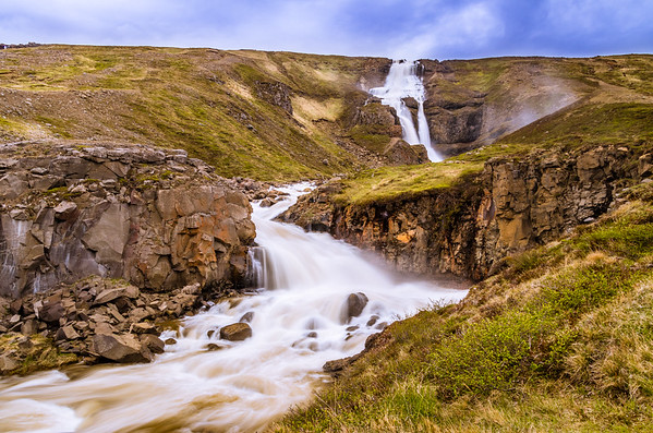 Rjúkandi Foss, Egilsstaðir, Iceland