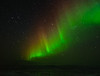Aurora over Jokulsarlon Lagoon and Breidamerkurjokull Glacier - Iceland - Darren Stratemeier - March 2012