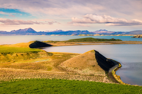Lake Mývatn Pseudo Craters