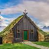 Víðimýrarkirkja Turf Church, Skagafjörður Iceland