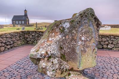 Hzalsneskirkja Church , Reykjanes