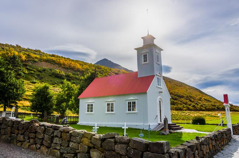 Laufas Church