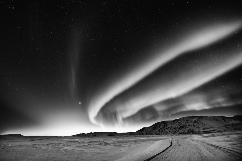 Borealis over Laugarvatn, Iceland