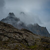 Vailed Mountain top