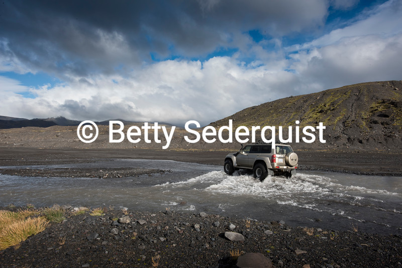 Fording an Icelandic River