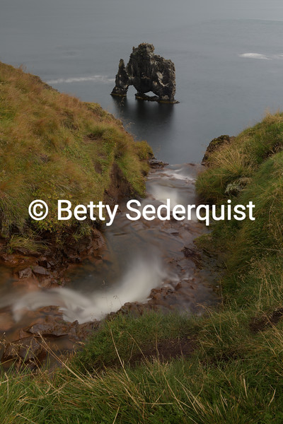 """The """"M"""" Rock, Northern Iceland"""
