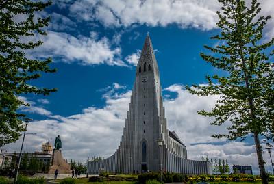 Summer Time at Hallgrímskirkja -  Reykjavík, Iceland
