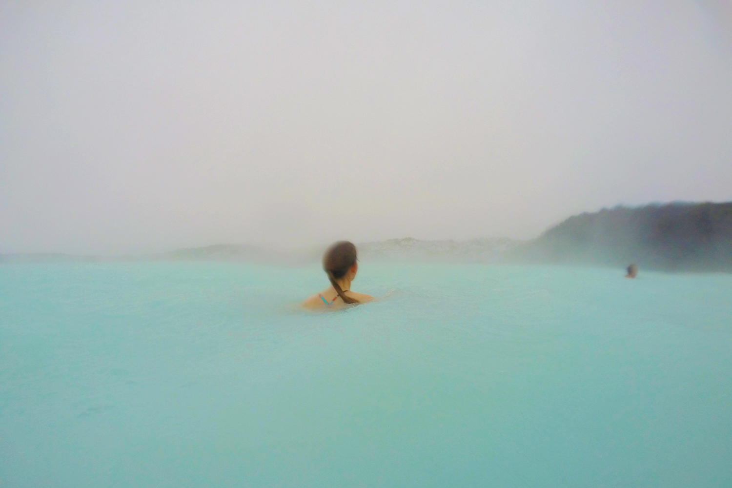 Is there a snow storm raging during your visit to Iceland? Don't worry - you can still visit the Blue Lagoon, even in below freezing outdoor temperatures!
