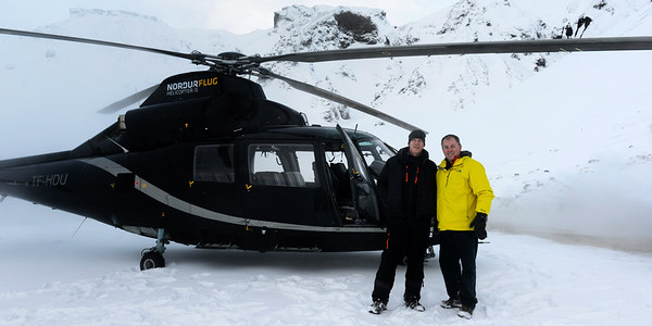 Dave with Pilot