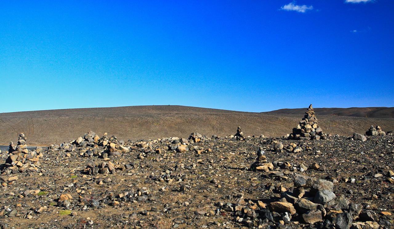 Δεν ξεχνιέται το δέος που νιώθει κάποιος, όταν διασχίζει αυτή την έκταση στην ΒΑ Ισλανδία: εδώ η NASA έφερε τους αστροναύτες του προγράμματος APOLLO για να τους εξοικειώσει με την γεωμορφολογία της σελήνης...