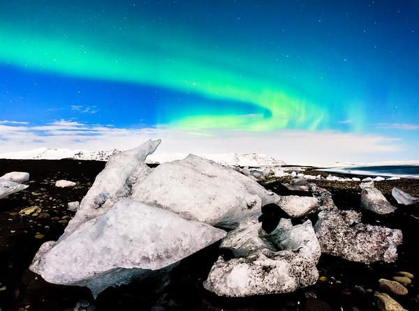 Icebergs Washed Ashore