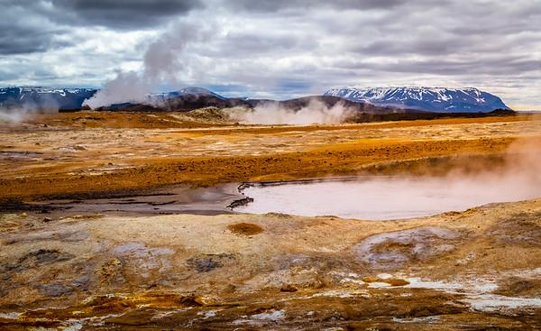 In Hell, Heaven on the horizon, Námaskarð, Iceland