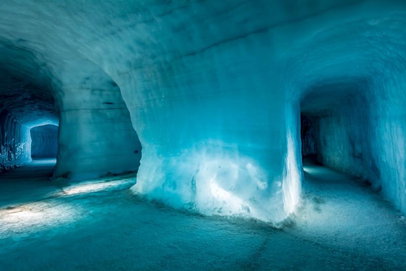 Ice Caves - Langjökull Glacier, Iceland