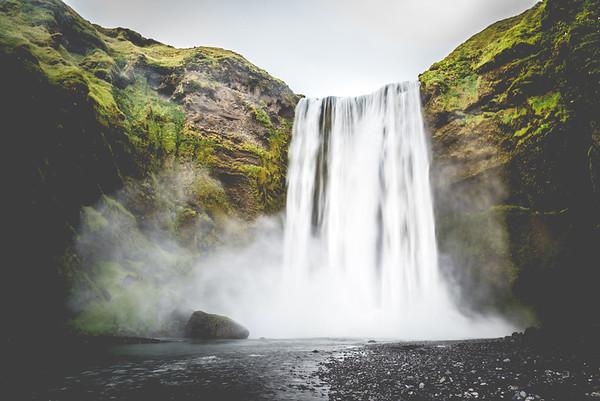 Skógafoss on the south coast of Iceland. #Iceland #Skógafoss #Latergram #28mm #NikonD750 #F22 #BeautifulIceland #EverydayIceland #Icelandi #NatgeoTravel #WildernessCulture #IcelandTravel #PhotographyTravel #GetOutside #TravelIceland #OptOutside #TravelStoke #Wanderlust #PhotographyEurope #NikonEurope