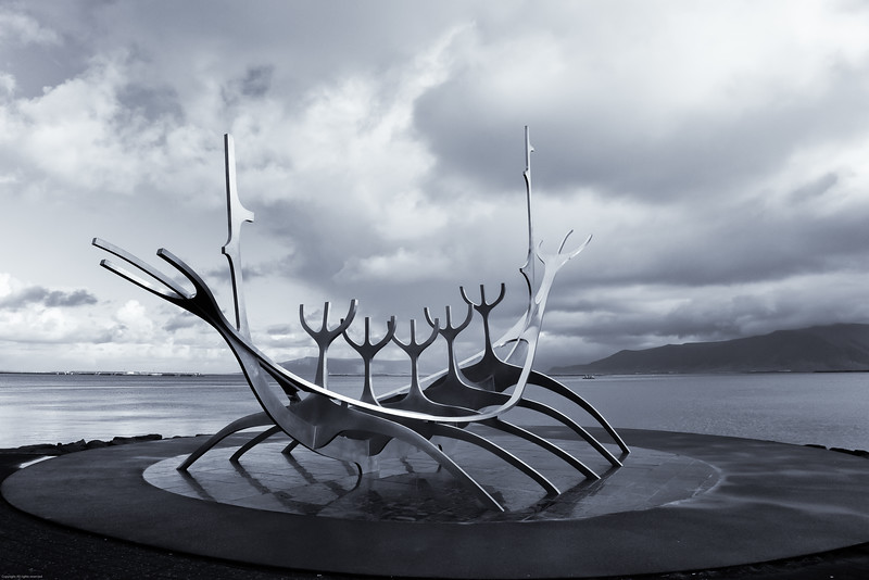 Sun Voyager - sculpture - Reykajavik Harbor